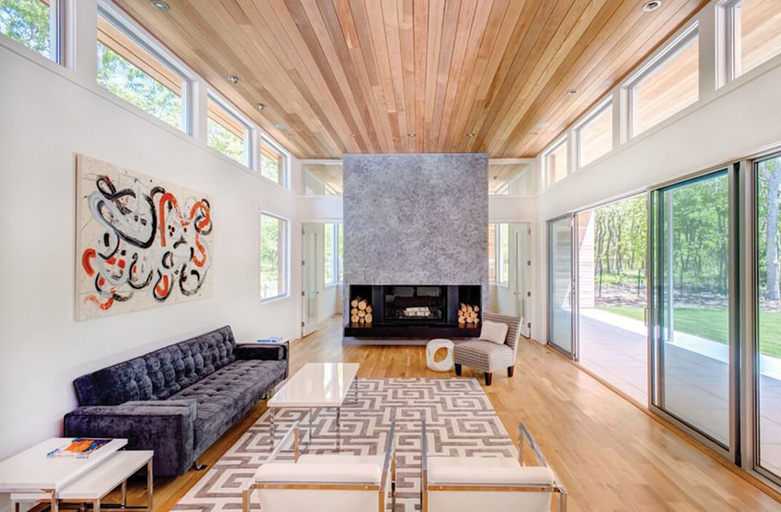 The Wood Paneling Trend Is Back With a Twist